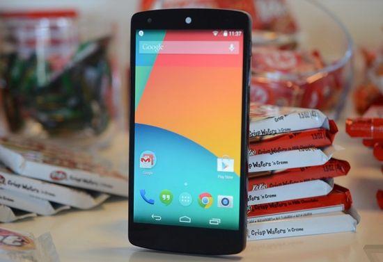 Google's Nexus 5 smartphone