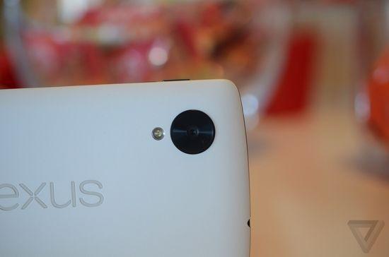 Google's Nexus 5 smartphone camera