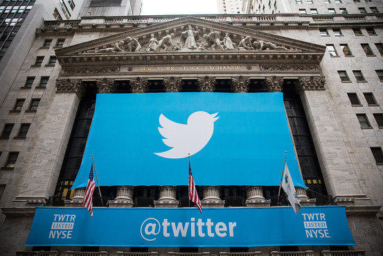 Twitter IPO on the NYSE