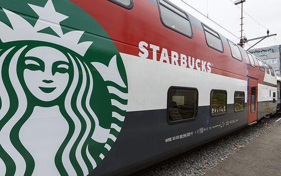 Starbucks's latest store will live in a train