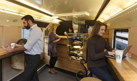 Starbucks train care went live in late November