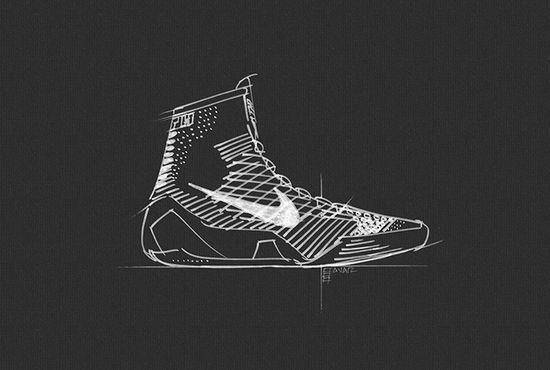 Whereas a Flyknit weave alone may be enough to stabilize a running shoe, Nike tells us that basketball is far more explosive, and requires more tensile support from Flywire