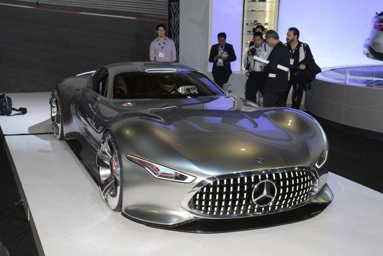 Mercedes-Benz AMG Vision Gran Turismo concept, 2013 Los Angeles Auto Show 1