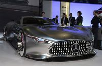 Mercedes-Benz AMG Vision Gran Turismo concept, 2013 Los Angeles Auto Show 10