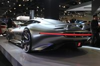 Mercedes-Benz AMG Vision Gran Turismo concept, 2013 Los Angeles Auto Show 6