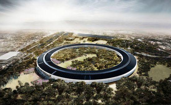 Apple's Spaceship Headquarters 1