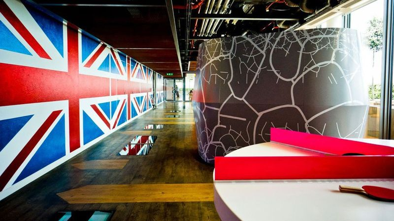 Google's new London office, scheduled to open in 2016