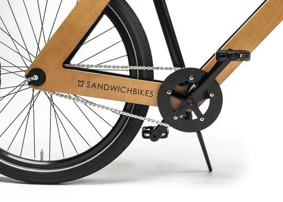 Sandwichbike flat-pack wooden bicycle 3