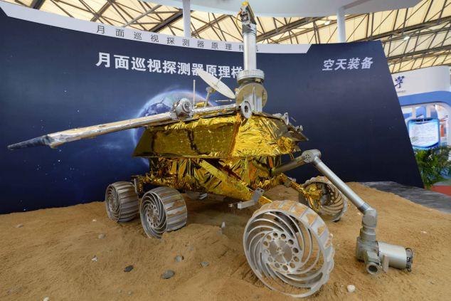 China's Jade Rabbit robot rover
