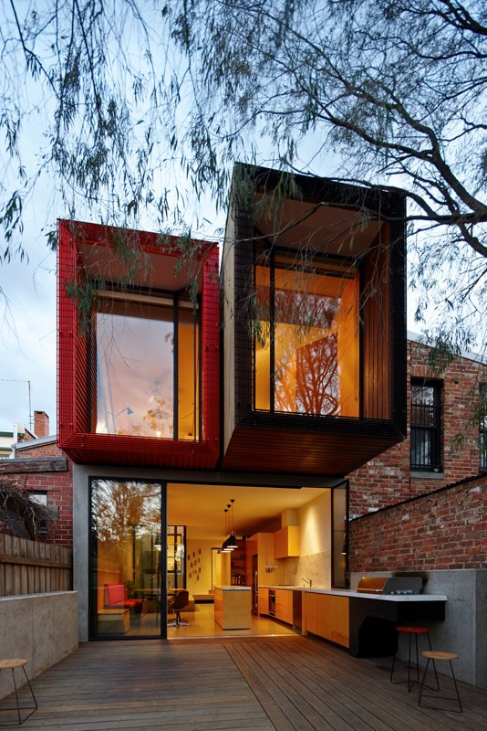 Victorian Rowhouse in the Melbourne suburb of Fitzroy, Victoria 1