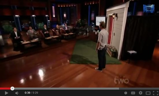 Doorbott founder Jamie Siminoff pitches the Sharks on ABC's Shark Tank and doesn't get funded