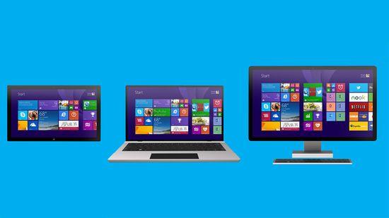 Windows 8 Metro screen