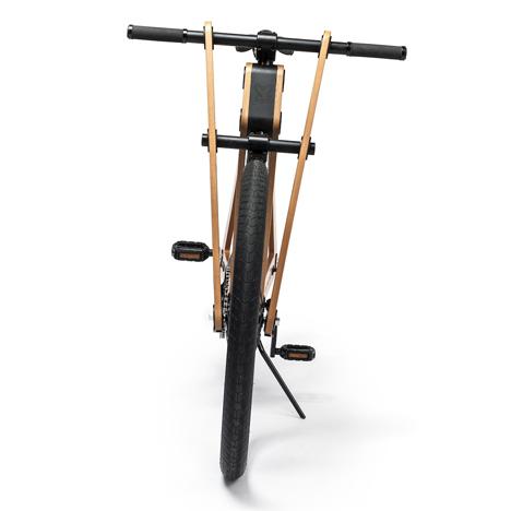 Sandwichbike flat-pack wooden bicycle 10