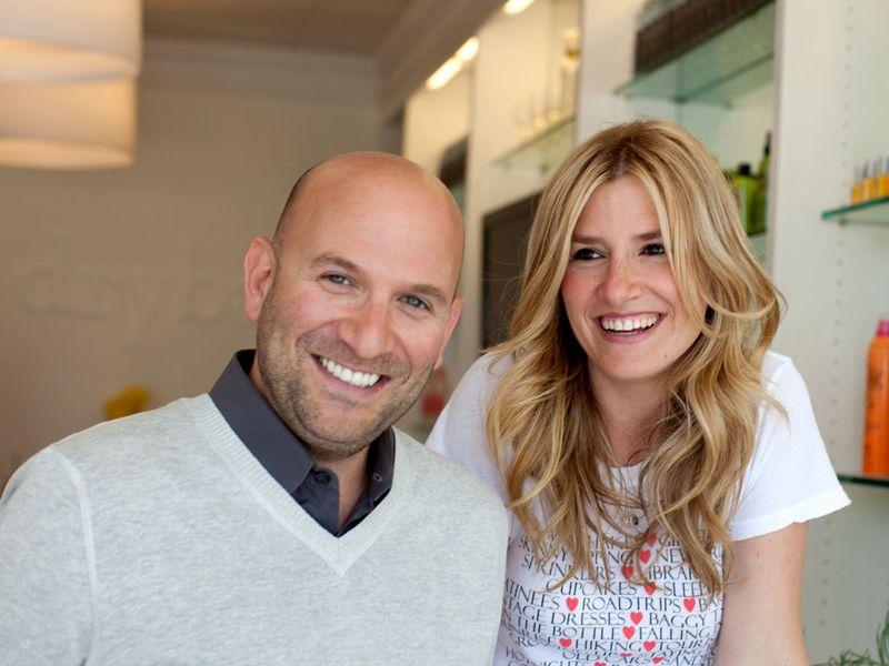 Michael Landau and Alli Webb, co-founders of Drybar