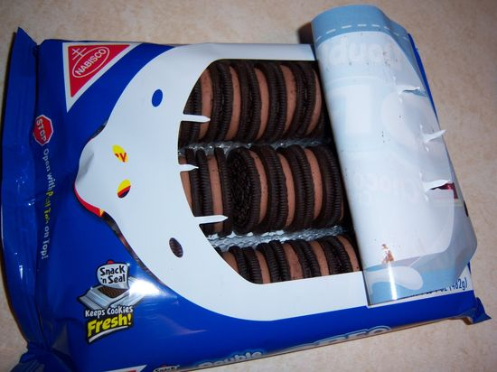 Oreo Cookie resealable package