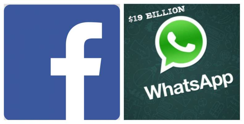 Facebook acquires Whatsapp for $19 billion in stock deal
