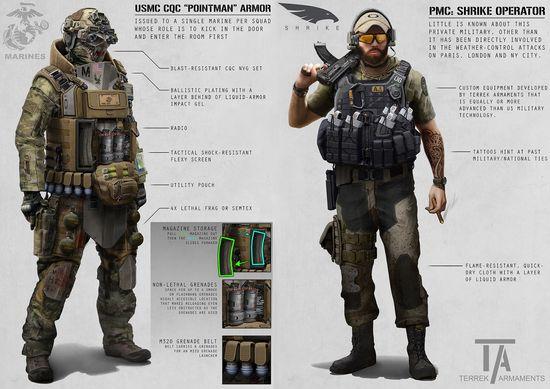 Concept illustrations of a possible TALOS combat suit 2