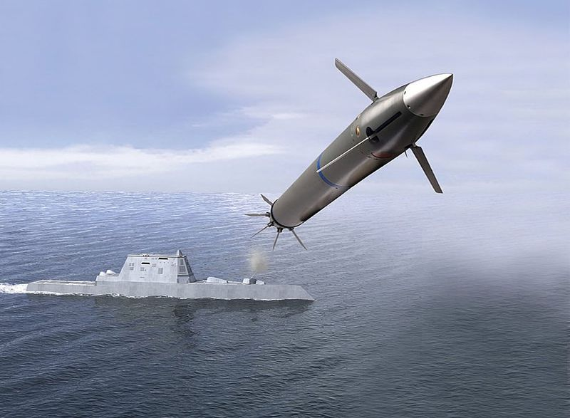 The new Long Range Attack Projectile (LRAP) — The DDG 1000 will be armed with tactical tomahawks, standard missile SM-3s, and the evolved SeaSparrow missile