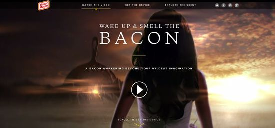Wake Up & Smell The Bacon homepage