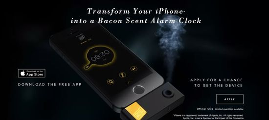 Transform Your iPhone into a Bacon Scent Alarm Clock