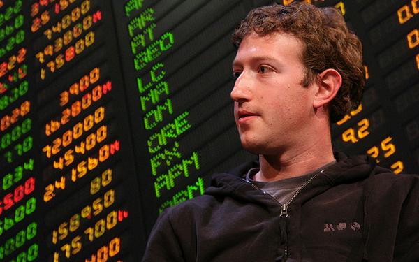 Mark Zuckerberg, co-founder and CEO of Facebook. Facebook's