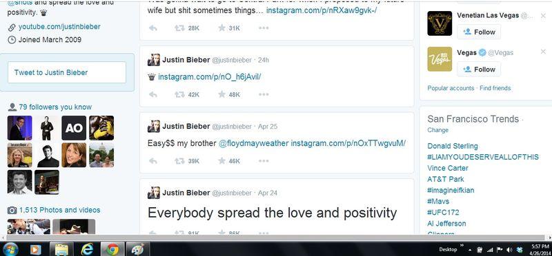 Justin Bieber (justinbieber) on Twitter 2