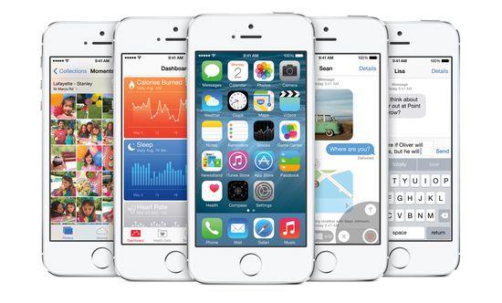 Apple iOS 8 screenshots