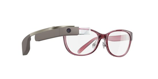 DVF already featured Glass on the brand's runway show earlier this year and with Google's partnership with eyewear giant Luxottica, you may see the face accessory in your local Lenscrafters soon