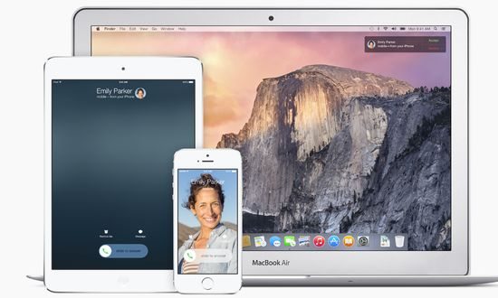 Apple OS X Yosemite's AirDrop now works between iOS and OS X, allowing users to connect their iPhones and iPads to their Macs to exchange files