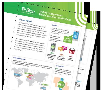 Mblox Mobile Engagement Survey