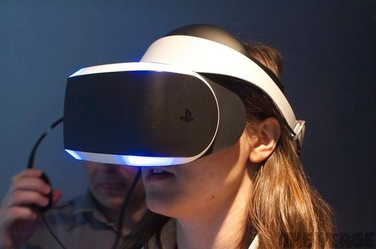 Sony's VR headset, a.k.a. Project Morpheus, is a worthy competitor for the Oculus Rift says The Verge