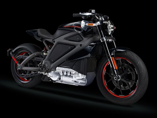 The LiveWire, Harley-Davidson's first electric motorcycle 1