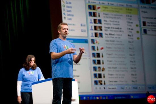 Lars Rasmussen shows off Google Wave in May 2009