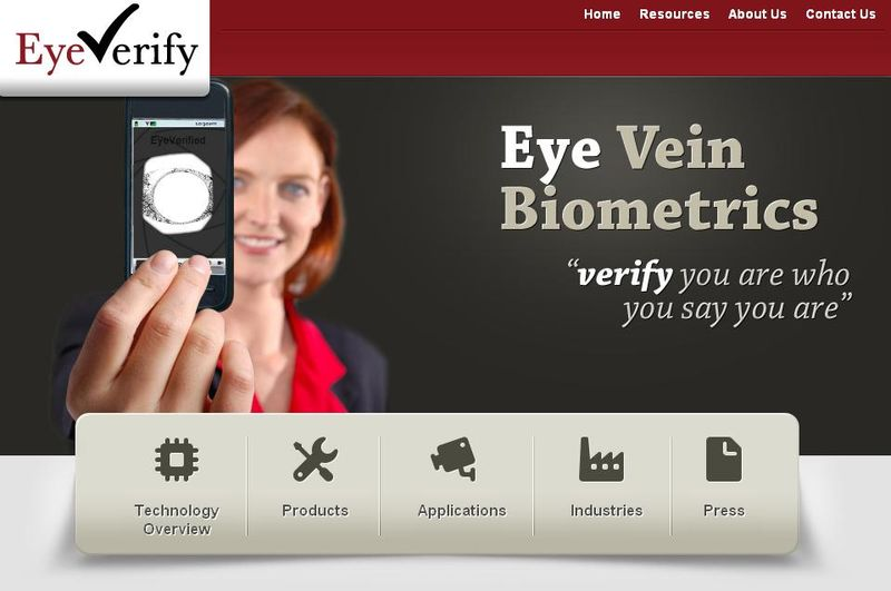 EyeVerify eye scanning technology will be the only password you need