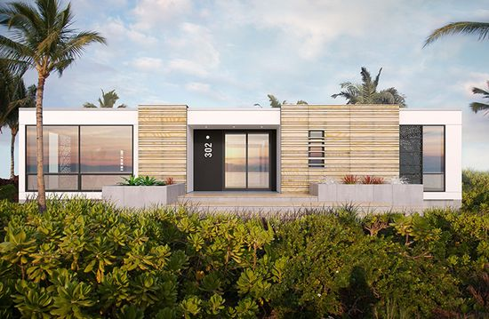 Rockwell says that the modular homes will offer 'a luxury design at a less than luxury price.'