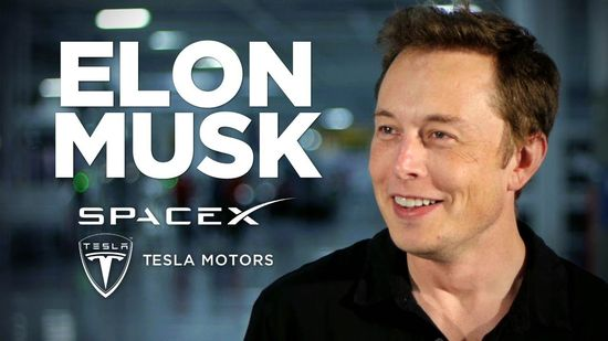 Elon Musk founder and CEO Tesla Motors and SpaceX