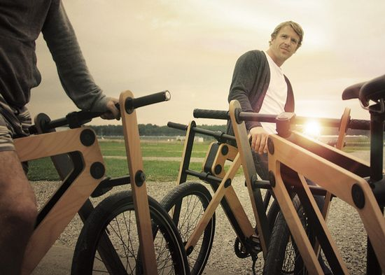 Sandwichbike flat-pack wooden bicycle 8