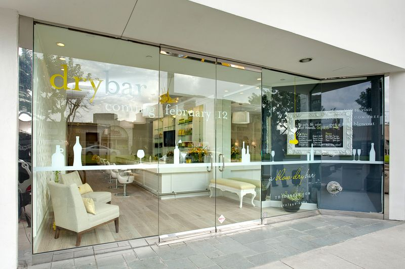 Drybar salon located in the Upper East Side section of New York City
