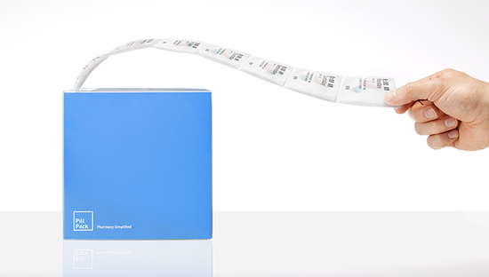 A startup originally accelerated within Ideo, PillPack is an end-to-end pharmacy and delivery service for pharmaceuticals that is using design to vastly simplify the process of swallowing pills each day