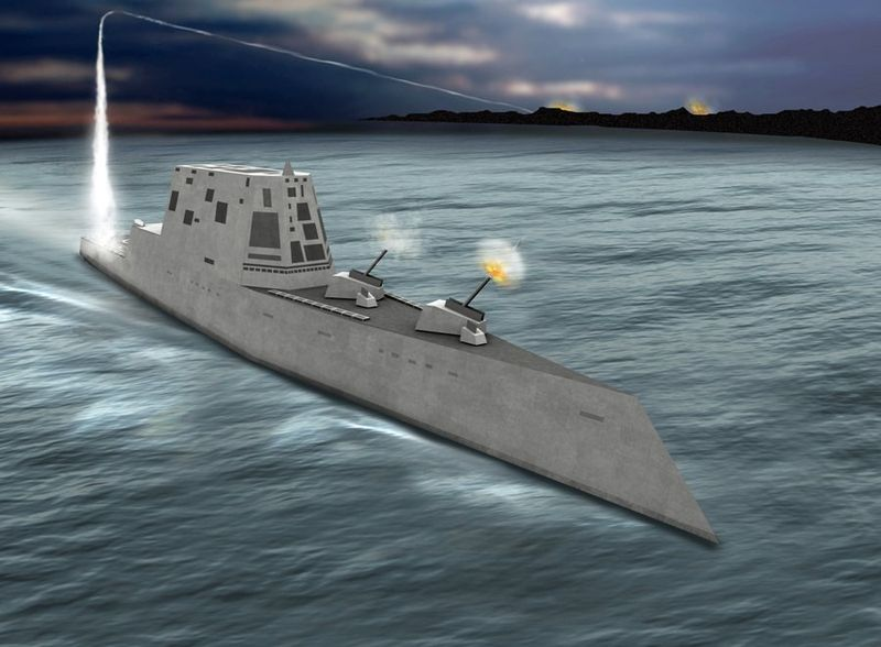 The Zumwalt's weaponry is tailored for land attack and close-to-coast dominance and will also have a sensor and weapons suite optimized for littoral warfare and for network-centric warfare