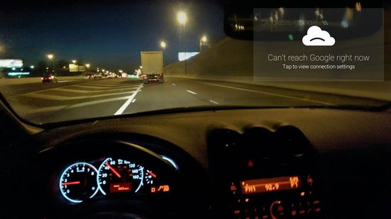 Google Glass is not reliable, and you might not be able to connect with the Google Glass system when you need it most , like when you are driving and need directions