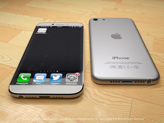 Another shot of the iPhone 6 concept