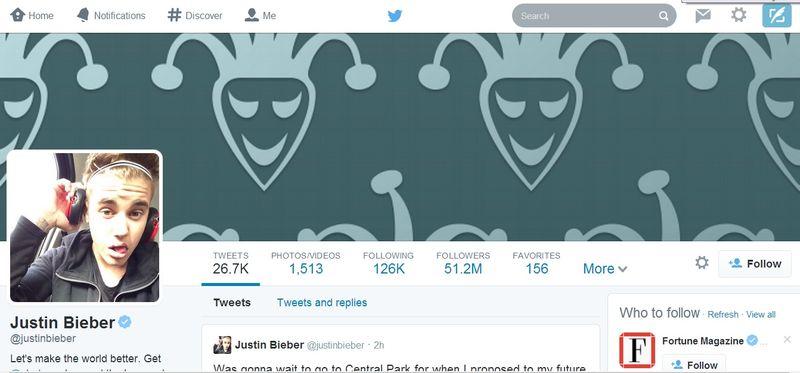 Justin Bieber (justinbieber) on Twitter 1