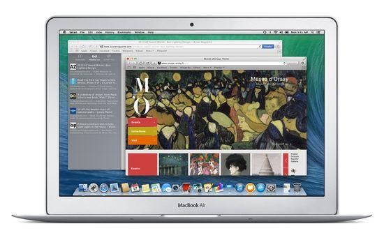 Apple OS X Mavericks Safari old search