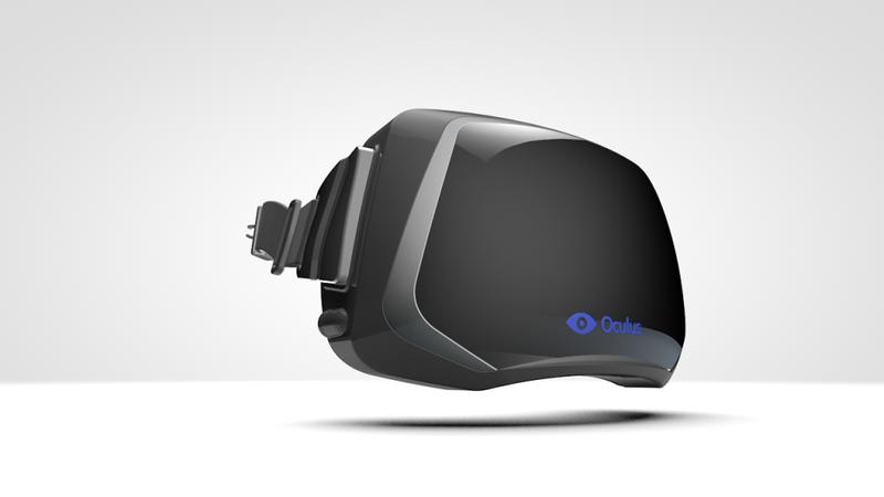 Oculus Rift 3-D Virtulal Reality headset