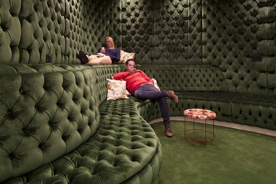 GOOGLE LONDON -- Google's London locale is anglophilic dreamhouse fit for Mr. Bean himself