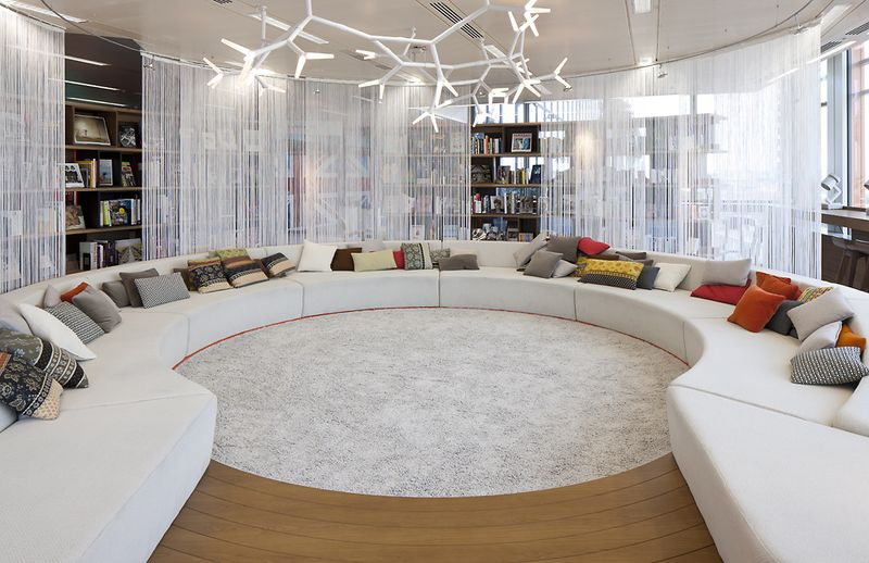 GOOGLE LONDON -- A conference room at Google London's 'Super HQ'