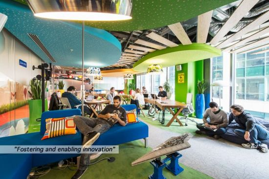 Google's new Dublin, Ireland office