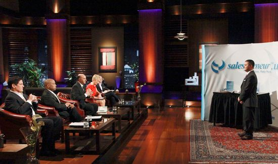 Pitching the Shark Tank 'Sharks'