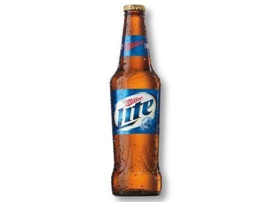 New Miller Lite bottle